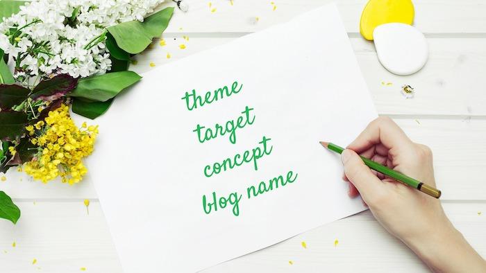 ブログ構築・設計図