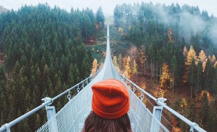 自分の限界を超える 橋