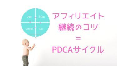 アフィリエイトで稼げない?PDCAサイクルやってますか?